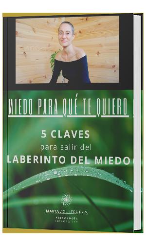 Ebook Miedo para qué te quiero, de Marta Aguilera Prim.