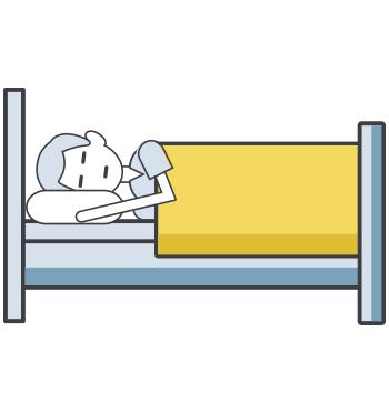 Estilo de vida saludable: descanso.